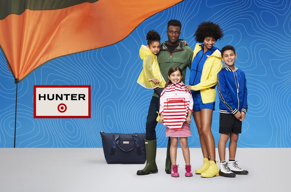 """Target knows exactly how to reel us in with limited-edition collections. When it announced Victoria Beckham's collaboration, we ran to get our hands on everything. We're now doing the same with its latest, a Spring line from Hunter that includes more than 300 items, with most pieces retailing for less than $30. """"Hunter has long been regarded for its impeccable design aesthetic, rich heritage, and playful spirit, and based on our research, it's a brand our guests know and love. So a pairing between our two brands made perfect sense,"""" Mark Tritton, executive vice president and chief merchandising officer at Target, said. """"From the very beginning, we worked with Hunter to develop a well-designed, affordable collection that's all about fun, optimism, and accessible adventure for the entire family. The colorful, all-weather pieces found in this line are made for enjoying the outdoors — rain or shine — on any budget."""" Everything ranges from $5 to $80, with Hunter's famous Wellington rain boots retailing for $45 and less — a steal compared with the usual $150 price tag. Of course, the collection includes apparel and accessories for women, men, girls, boys, and toddlers, but for the first time, Hunter released products for the home and outdoors.  The entire collection is available through June 14 at select Target stores and on Target.com. For women, the sizes are XS to 3X; for men, S to XXL; and for kids, 18M to XL. Check out the campaign images ahead, then head over to Target to shop, but not before reading our review of the hot-ticket items.      Related:                                                                                                           The 2 Things This Fashion Editor Always Shops at Target"""