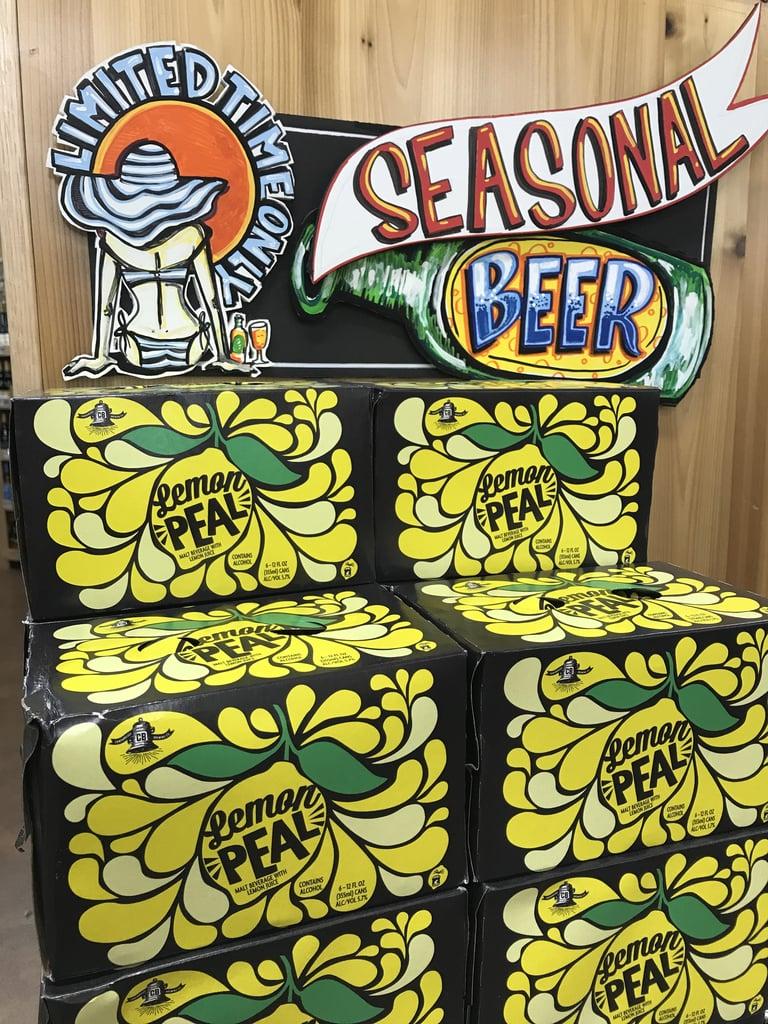 Trader Joe's Lemon Peal Malt Beverage ($8)