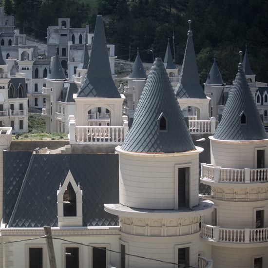 See a Ghost Town in Turkey Filled With Disney Castles