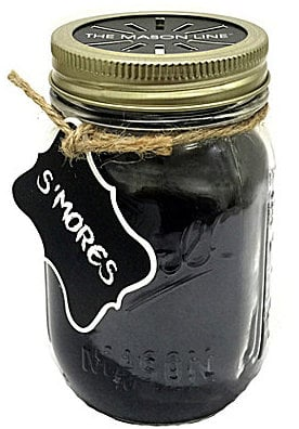 The Mason Line by Aromatique S'mores Mason Jar Candle ($25)