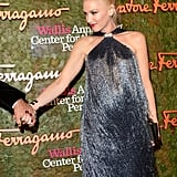 Gwen Stefani's baby bump was on display during the Wallis Annenberg Center For the Performing Arts Inaugural Gala in LA.