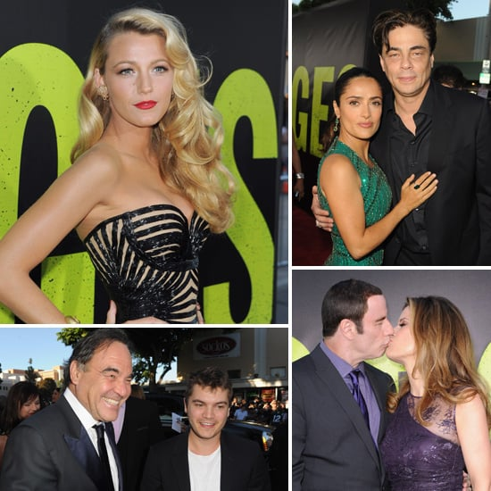 Blake Lively Breaks Out a Bombshell Look at the Savages LA Premiere With Salma, John and Benicio