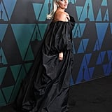 Lady Gaga Valentino Dress at Govenors Awards November 2019