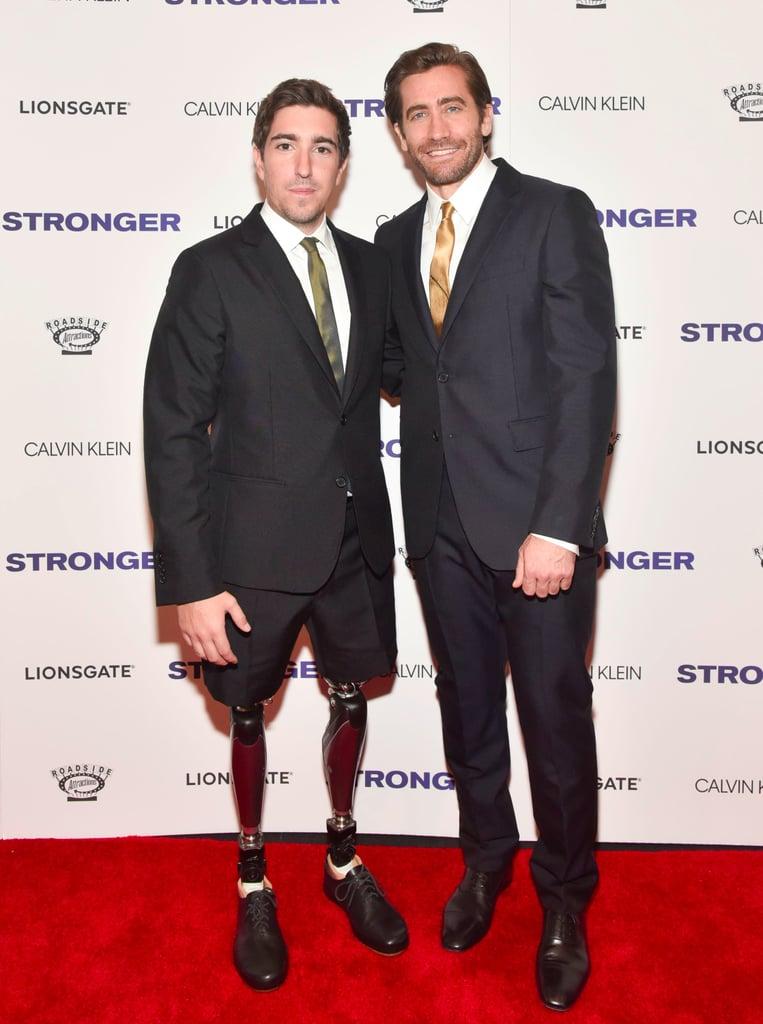 Jake Gyllenhaal at Stronger Premiere in New York City