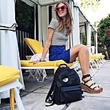 Chiara Ferragni Wore the Perfect Tibi Wedges and Céline Sunglasses