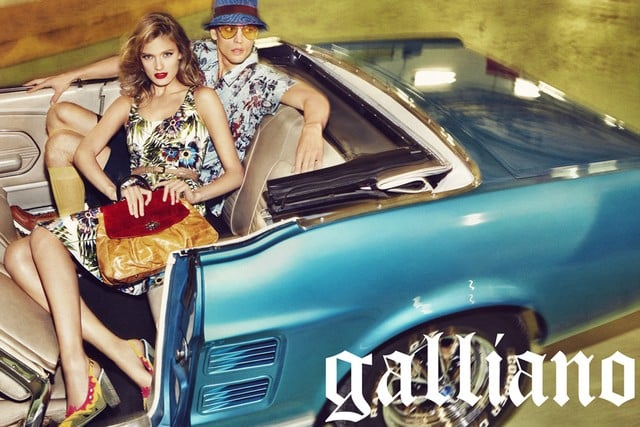 John Galliano Spring 2012 Ad Campaign