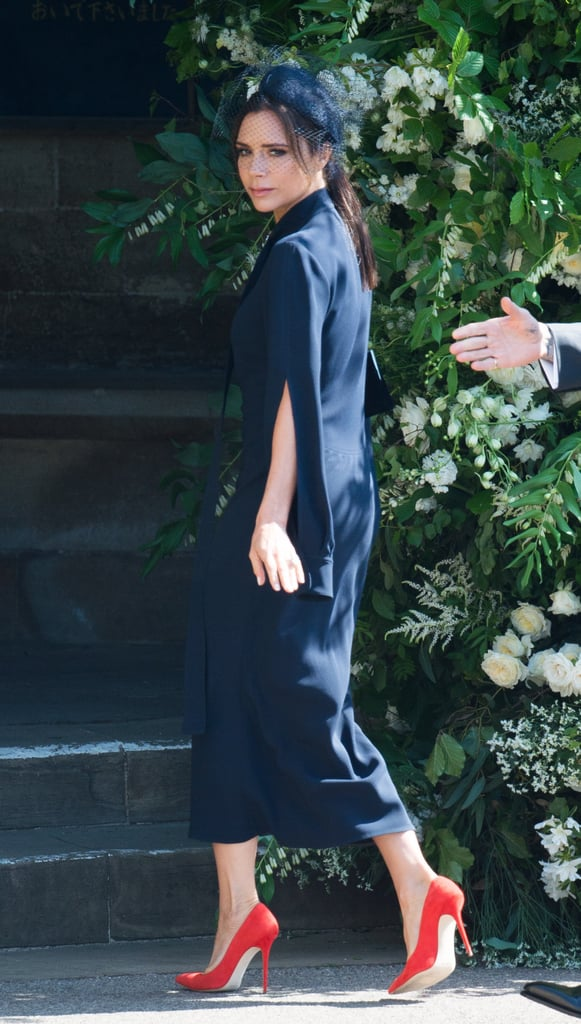 Victoria Beckham Dress At Royal Wedding 2018 Popsugar Fashion Uk