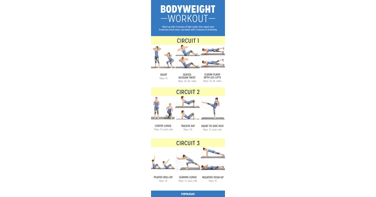 Bodyweight Workout For Women