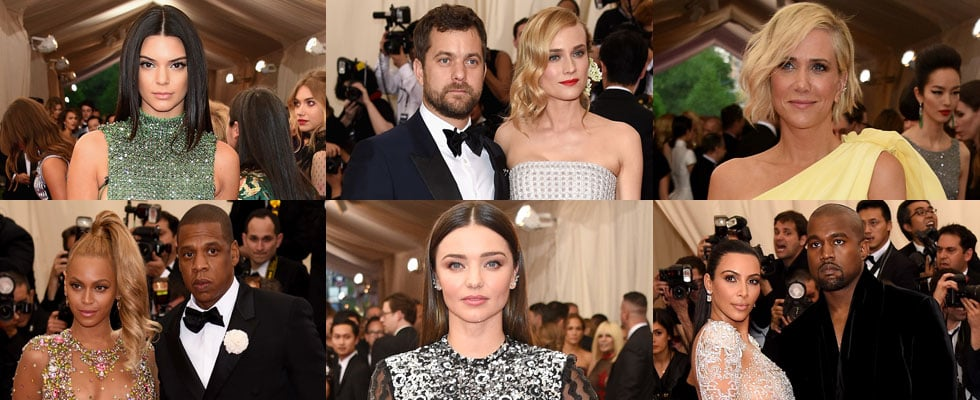 Celebrity Red Carpet Arrivals Pictures at 2015 Met Gala
