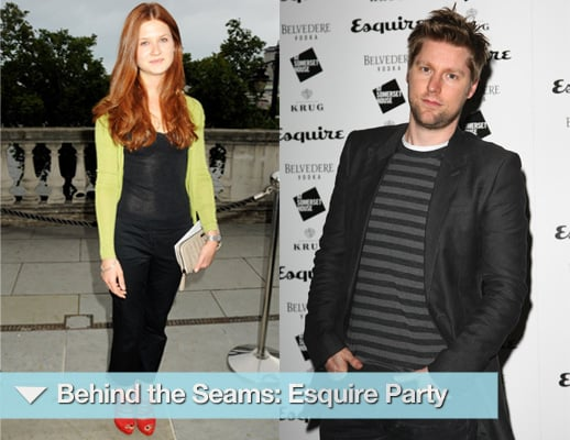 Photos of Amber Le Bon, Bonnie Wright, George Lamb, Margo Stilley, Henry Holland, Graham Norton at Esquire Party