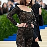 Bella Hadid Bob Haircut at the Met Gala 2017
