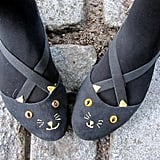 Charlotte Olympia-Inspired Cat Flats