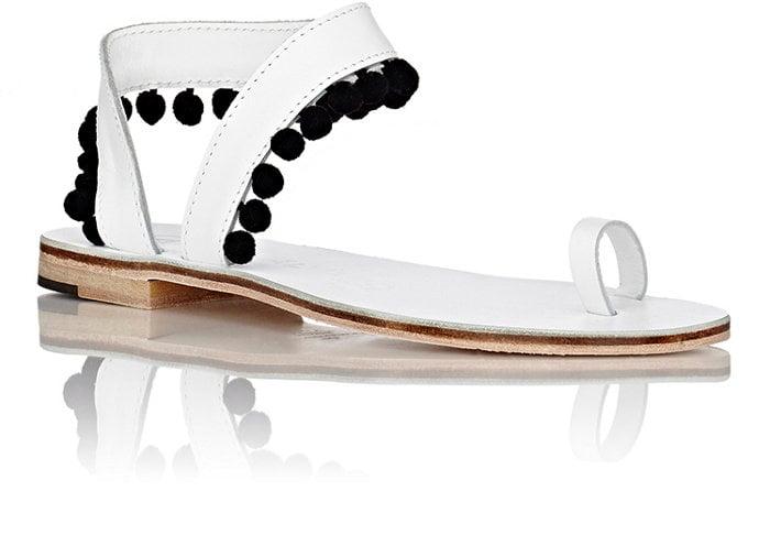 Álvaro Women's Angela Sandals-White ($500)