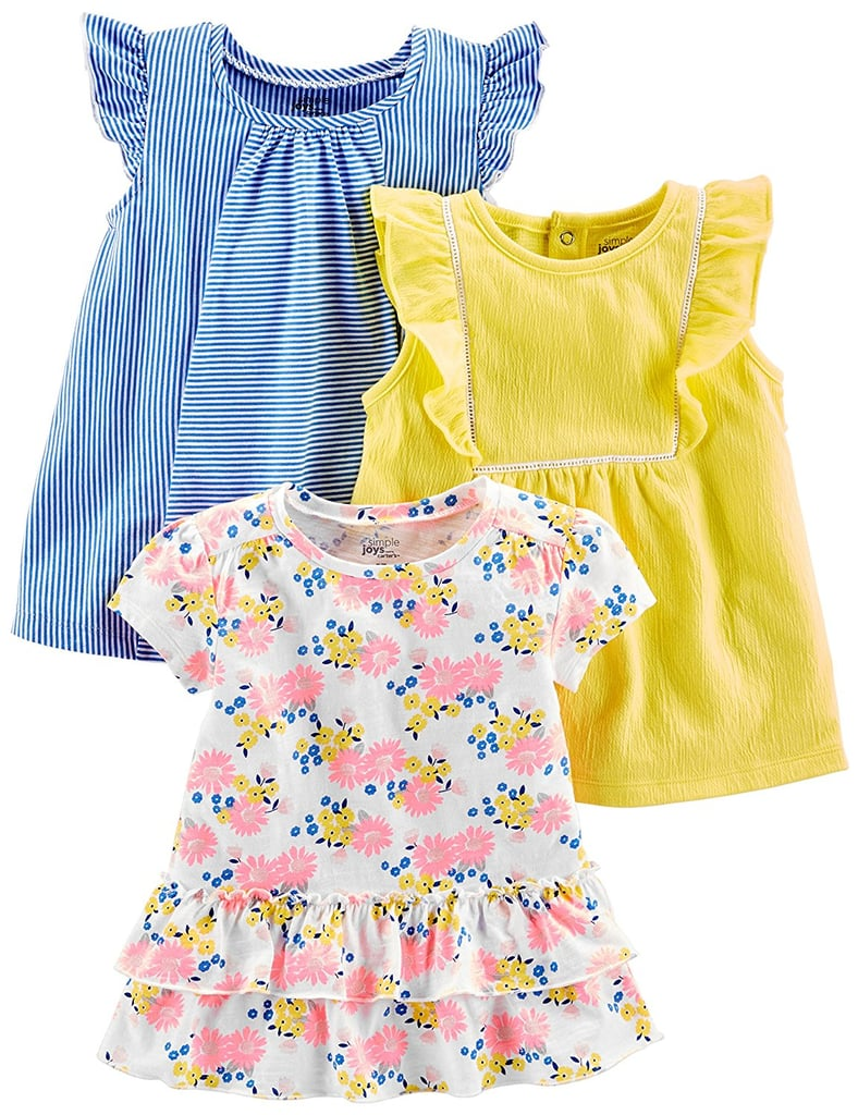 b37882aa05e4 Simple Joys by Carter s Baby Girls  Toddler 3-Pack