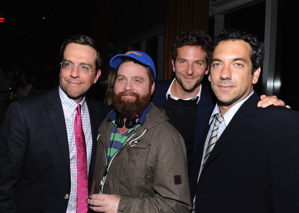 The Hangover Cast at a New York Screening