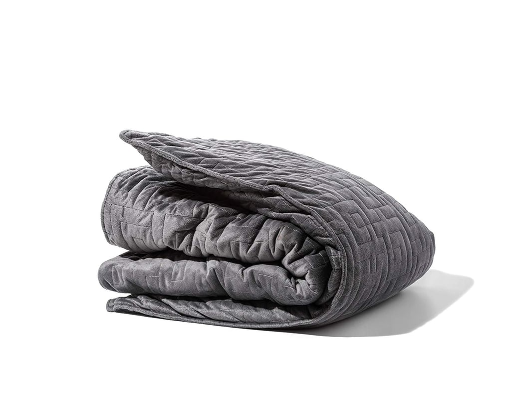 Gravity Blanket: The Weighted Blanket for Sleep, Stress, and Anxiety in Gray
