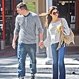 Channing Tatum and Jenna Dewan Hold Hands Following a Busy NYC Trip