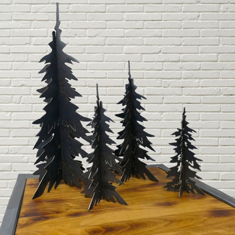 Metal Christmas Trees