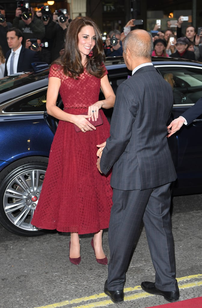 Kate Middleton Arrived at the Opening Night of 42nd Street