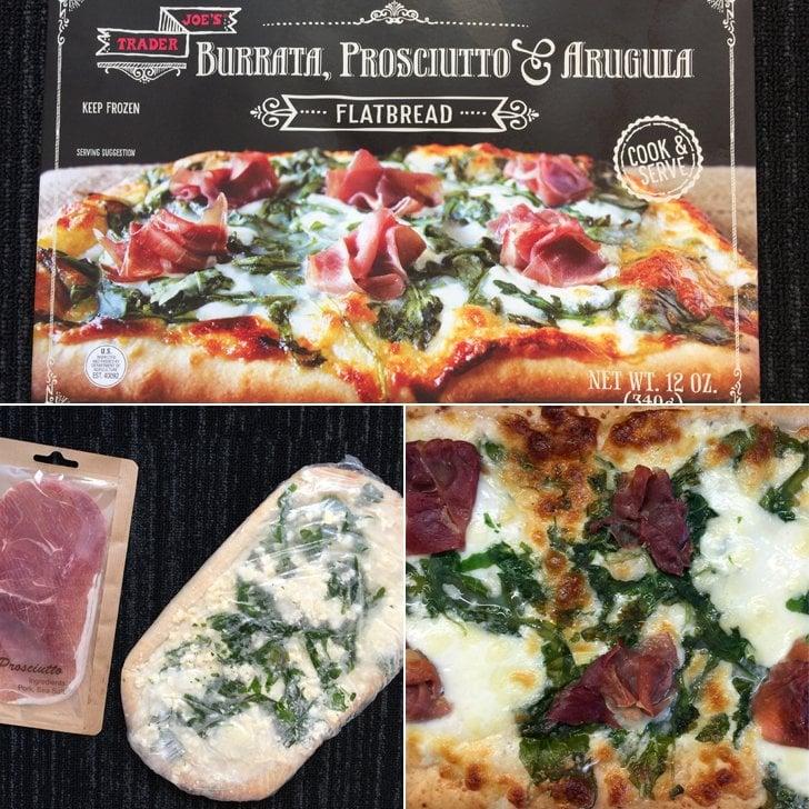 Burrata, Prosciutto, and Arugula Flatbread ($5)