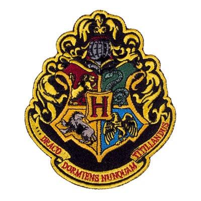Hogwarts Crest Patch ($7)