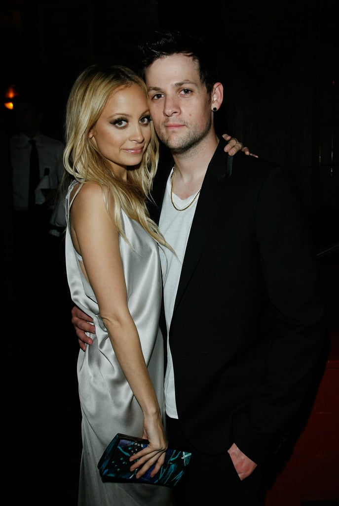 Nicole Richie and Joel Madden attended a dinner for Alberta Ferretti at LA's Bar Marmont in November 2008.