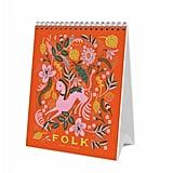 Desk Calendar of Lovely Folk Art