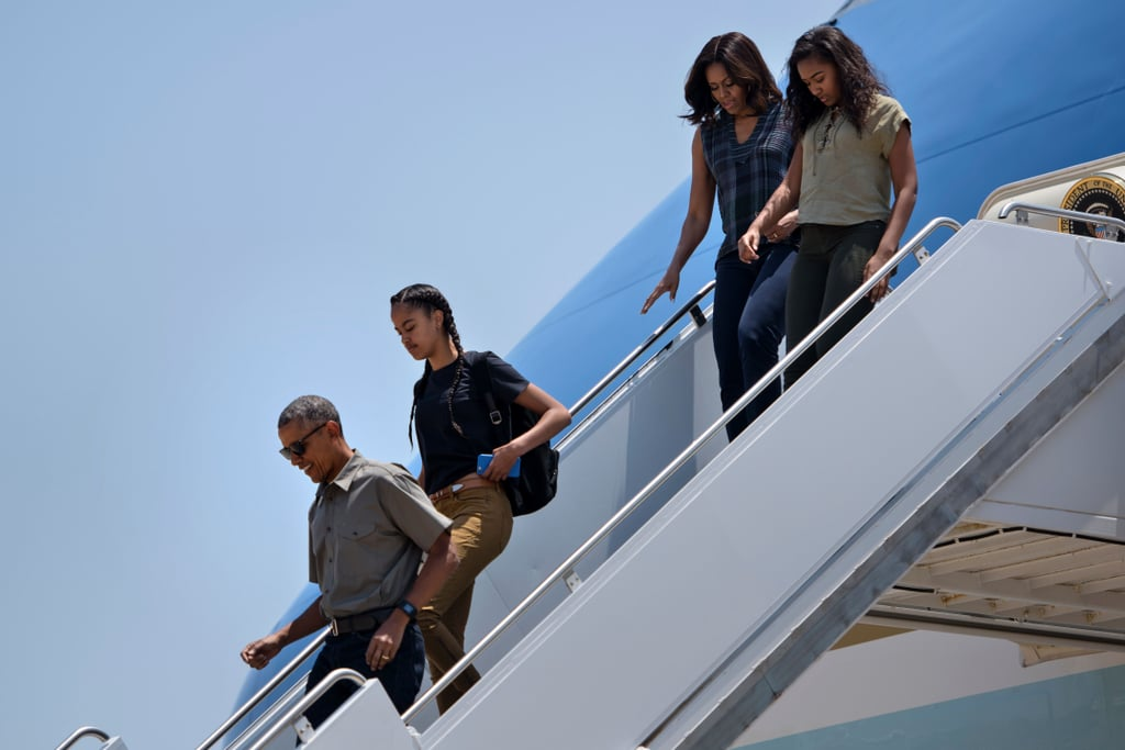 Michelle Obama's Outfit at National Park in New Mexico 2016