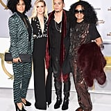 Ashlee Simpson is the daughter-in-law to Diana Ross and sister-in-law to Tracee Ellis Ross.