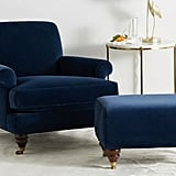 Willoughby Chair and Ottoman