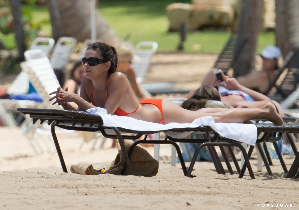 Eva Longoria Works a Bikini Ahead of Big Small-Screen Premiere