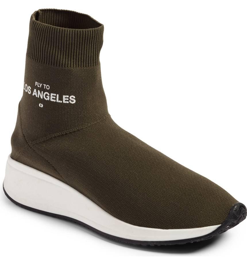 Joshua Sanders Fly To High Top Sock Sneaker