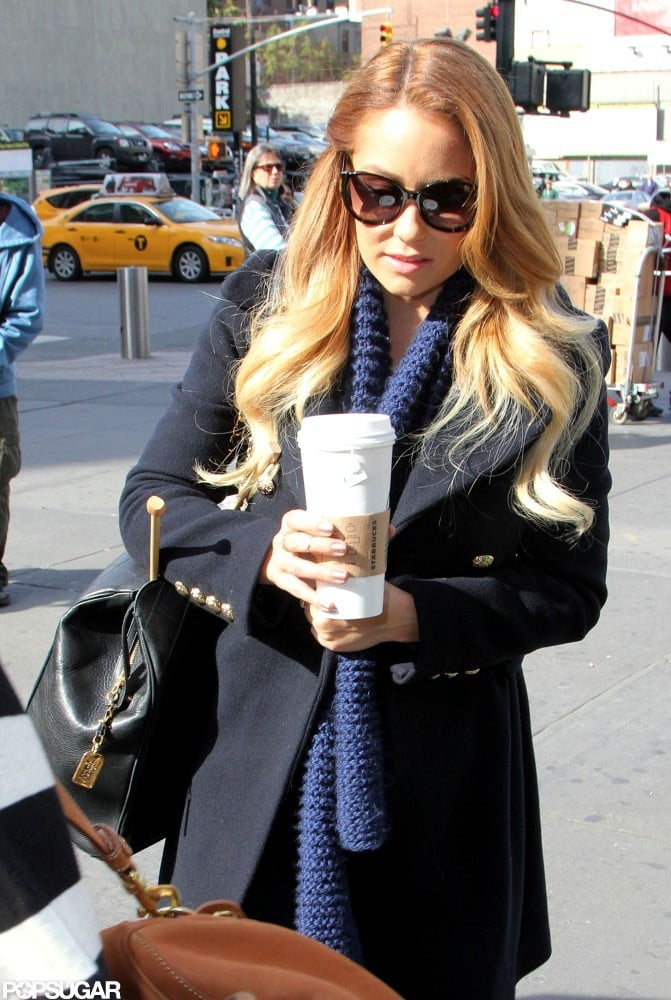 Lauren Conrad traveled to Philadelphia.