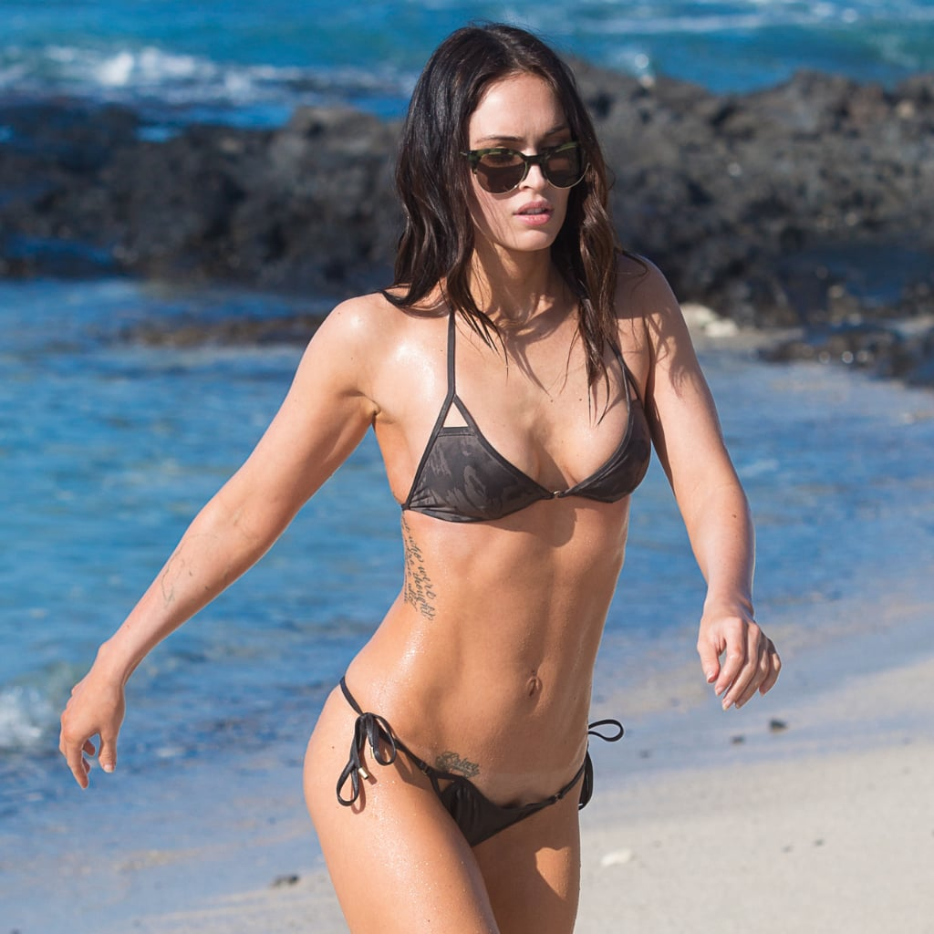 braless Bikini Megan Fox naked photo 2017