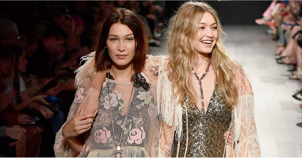Bella Hadid Helped Gigi Walk Down the Runway, and We're Not Crying — You're Crying