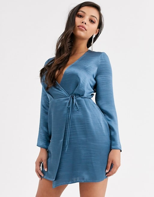 ASOS Design Wrap Mini Dress