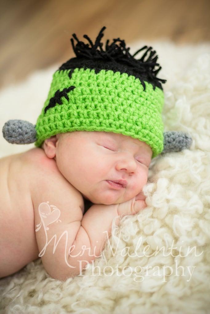 Baby Frankenstein Crochet Costume