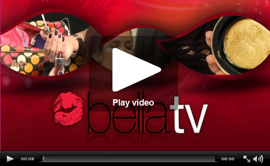 BellaTV: Sparkling Hair, Lash-Tinting Fun, and Hot Lip Glosses