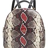 Kate Spade New York Reese Park Ethel Snake Embossed Leather Backpack