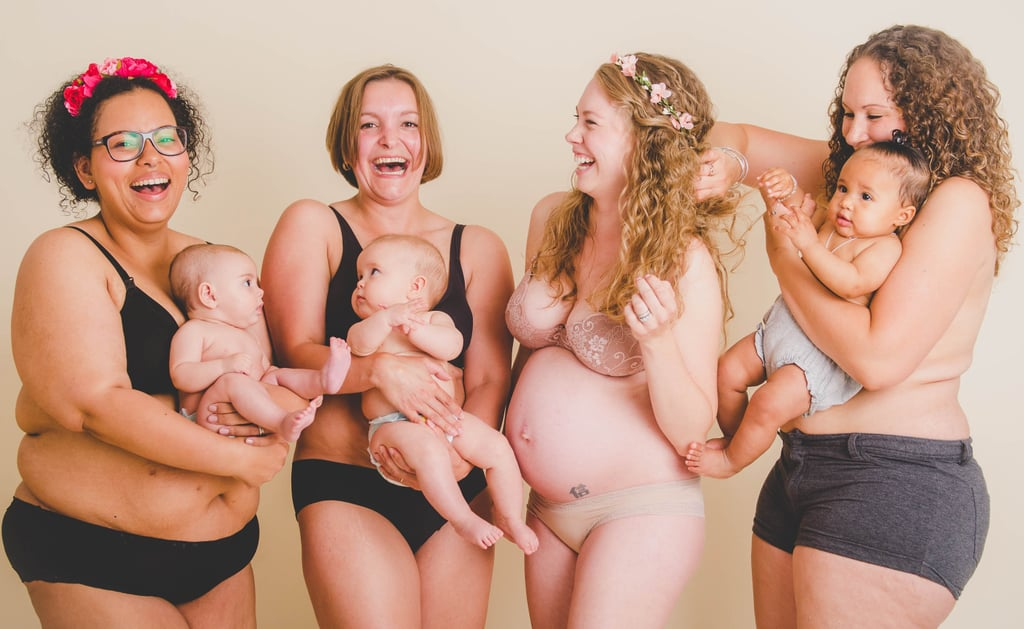 Why Every Woman Needs to See These Unretouched Photos of Postpartum Bodies