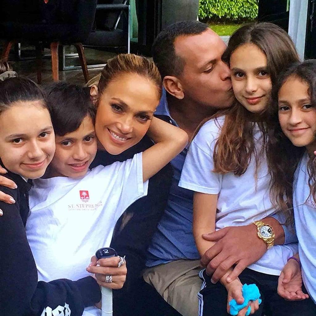 How Many Kids Do Jennifer Lopez And Alex Rodriguez Have Popsugar Family