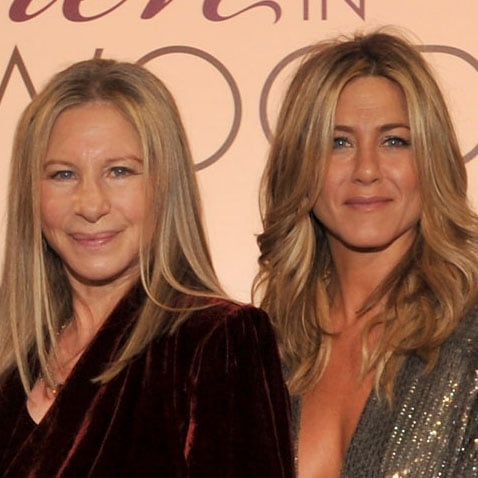 Jennifer Aniston, Barbra Streisand Pictures at Elle Women in Hollywood