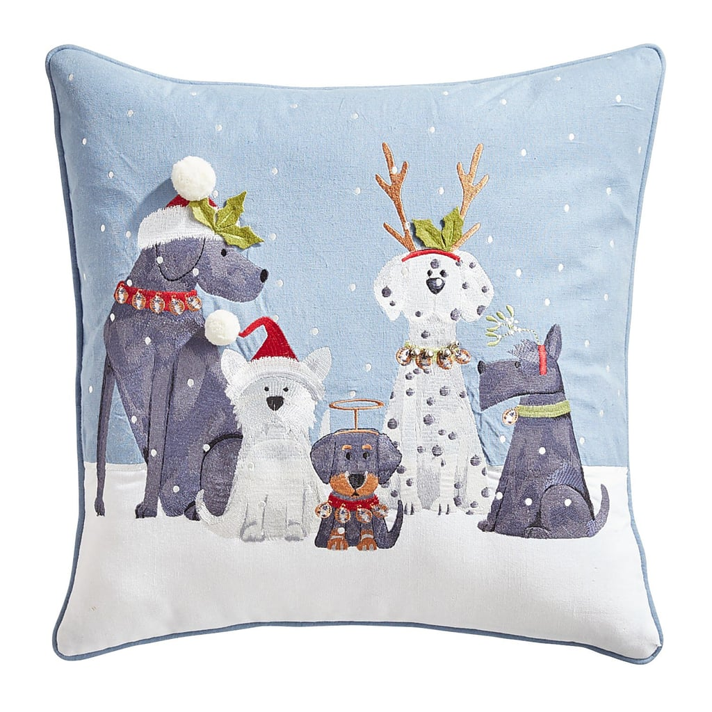 Holiday Pups Pillow