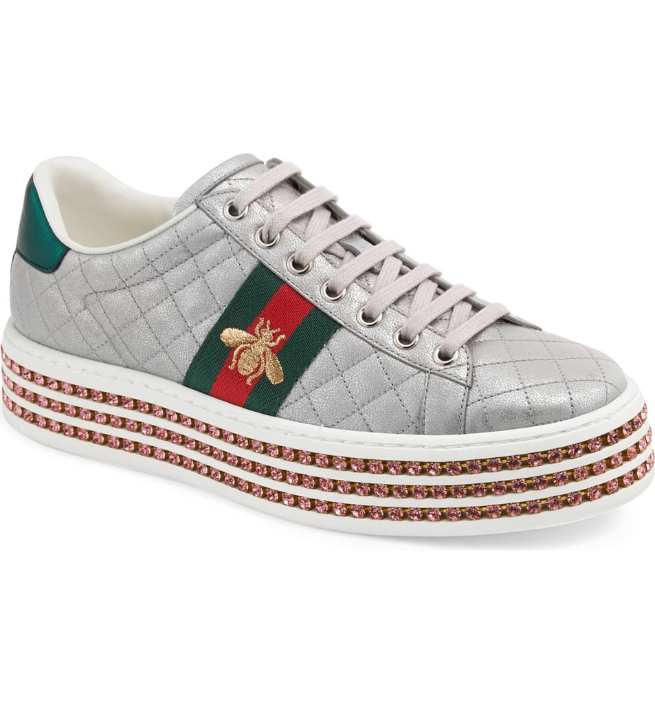 Gucci New Ace Platform Sneaker | Sneaker Trends For 2019 ...