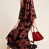 Margie Flocked Maxi Dress
