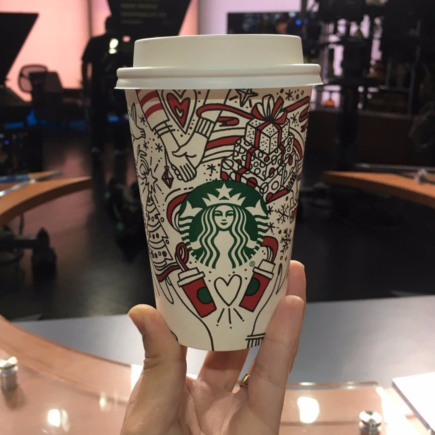 starbucks holiday cups 2017 popsugar family
