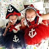 NICU Babies in Halloween Costumes