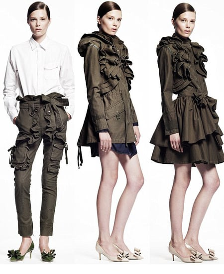 Valentino and Gap Collaborate for Winter 2010