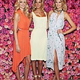 Lindsay Ellingson, Erin Heatherton, and Toni Garrn