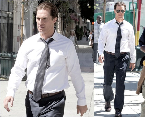 Matthew McConaughey Lawyers Up For His Latest Movie Role